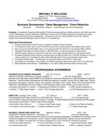 Business Development Manager Sample Resume resume business development manager sales