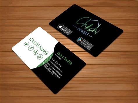 Business Card Social Media Template