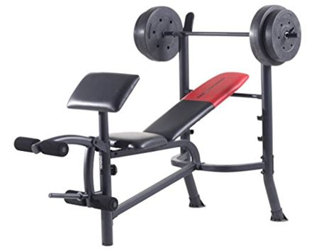 weider pro 265 weight bench top weight training equipment for home to build muscle