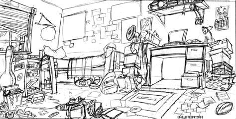 messy house coloring page messy room messy rooms pinterest