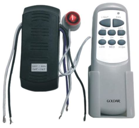 Universal Ceiling Fan Remote Replacement by Fans Goldair Universal Ceiling Fan Remote Gcfr