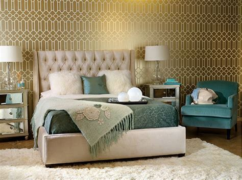 trendy wallpaper ideas to decorate your bedroom 20 trendy bedrooms with geometric wallpaper designs