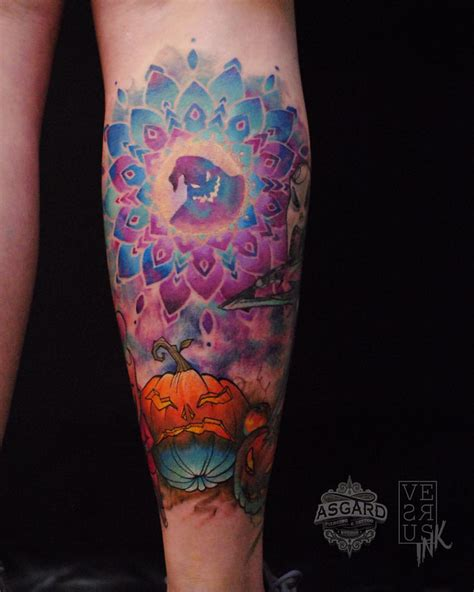 watercolor tattoos mandala alberto cuerva certified artist