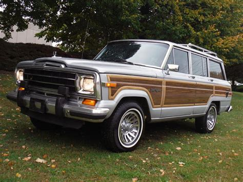 jeep wagoneer 1989 1989 jeep grand wagoneer ltd 180844