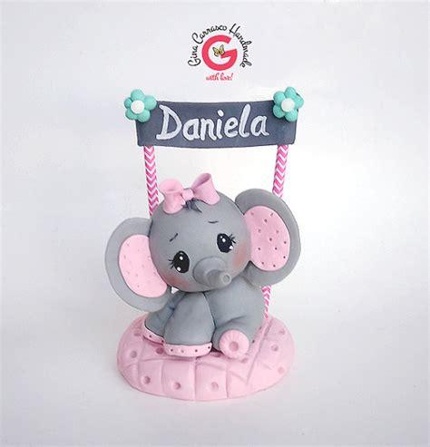 baby shower elephant cake topper elephant baby shower cake topper
