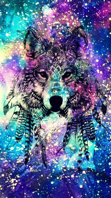 anime themes galaxy y tribal wolf galaxy wallpaper my wallpaper creations