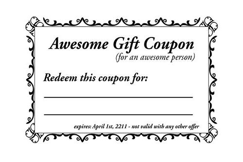 word document coupon template