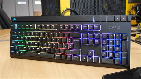 Keyboard Corsair Strafe Rgb Mechanical Cherrymx Brown Rgb Led 1 corsair strafe silent rgb light up and conclusion