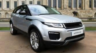used land rover range rover evoque se tech td4 silver hk66xgb