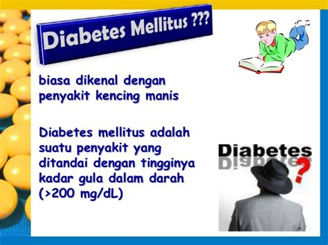 Mengenal Penyakit Diabetes Melitus mengenal diabetes mellitus