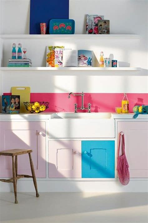 bright kitchen color ideas 20 colorful kitchen ideas in small spaces house design