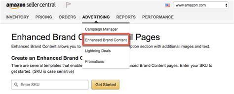 Amazon Enhanced Brand Content How To Improve Product Listings Enhanced Brand Content Templates