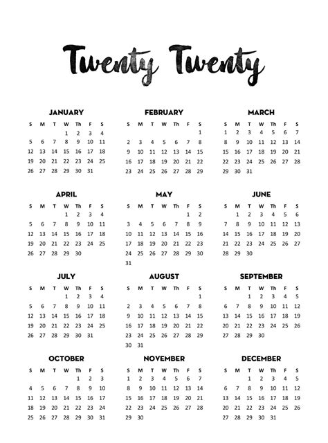 yearly calendar template  notes   calendars  students education yearly calendar