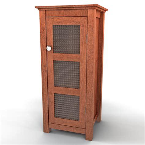 Floor Cabinet With Doors by Floor Cabinet Door 3ds