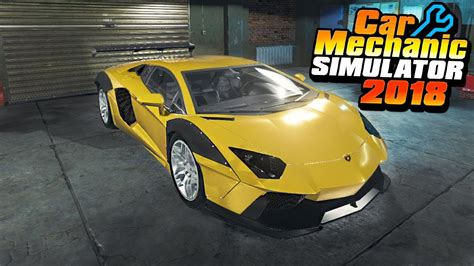 Lamborghini Aventador Simulator by Lamborghini Aventador Liberty Walk Car Mechanic