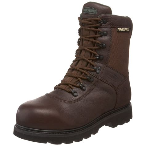 mens wolverine boots wolverine mens galant 8 safety toe sport boot in brown for
