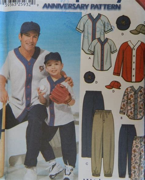 baseball jersey pattern sew sewing pattern men s baseball jersey