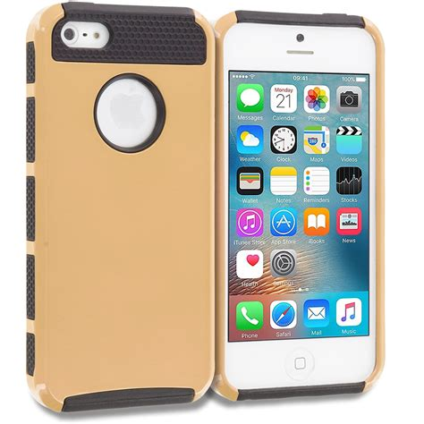 Future Armor For Iphone 5 5s Se for apple iphone 5 5s se hybrid 2 slim armor cover accessory ebay