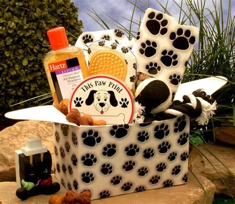 puppy care package paw prints care package all about gifts baskets