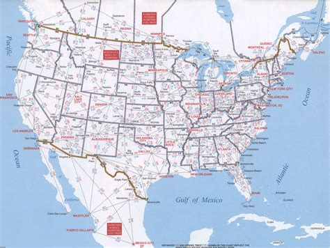 us map with driving distances us route map