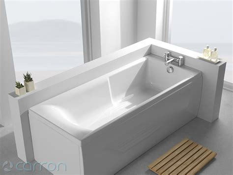 Acrylic 5mm carron matrix 5mm acrylic single ended bath 1600 x 700mm