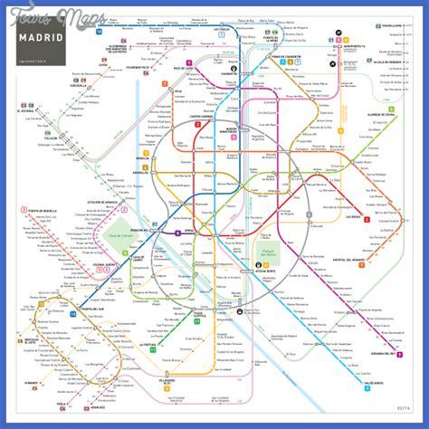 madrid metro map madrid subway map toursmaps