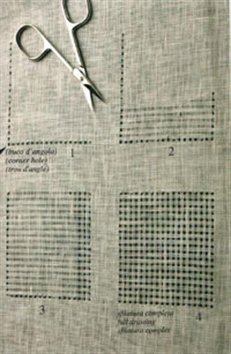 ricami sfilati per tende sfilati per tende casamia idea di immagine