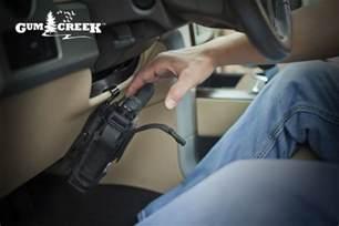 Steering Wheel Car Gun Holster Vehicle Handgun Mount Vehicle Gun Mount Steering Wheel