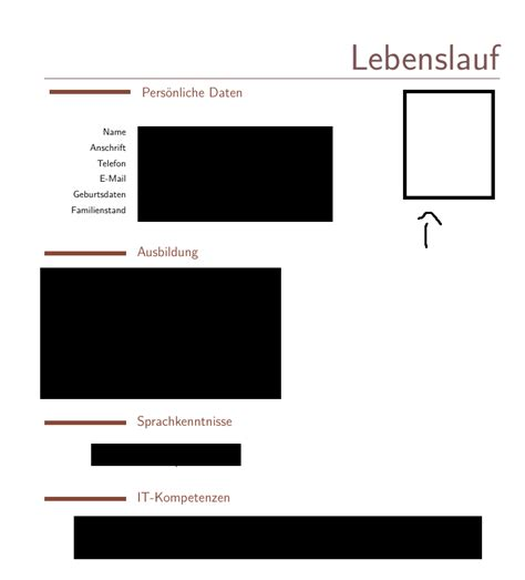 graphics how to insert photo in cv without pushing text
