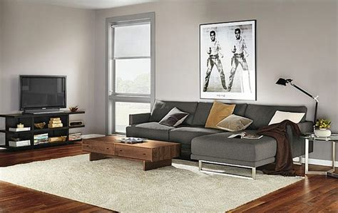 chaise in living room odin sofa with chaise room by r b modern living room
