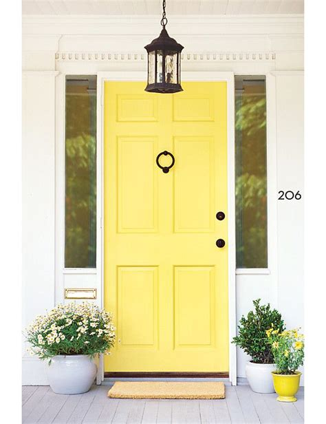 17 Best Ideas About Yellow Front Doors On Pinterest Yellow Front Doors