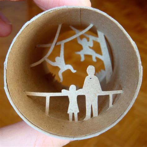 Crafts With Toilet Paper Rolls - toilet roll paper crafts gadgetsin