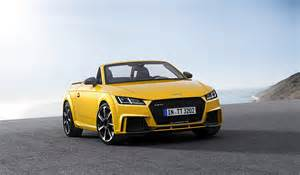 Audi Tt Rs Roadster Price 2017 Audi Tt Rs Roadster And Coupe Bow In Beijing With 400