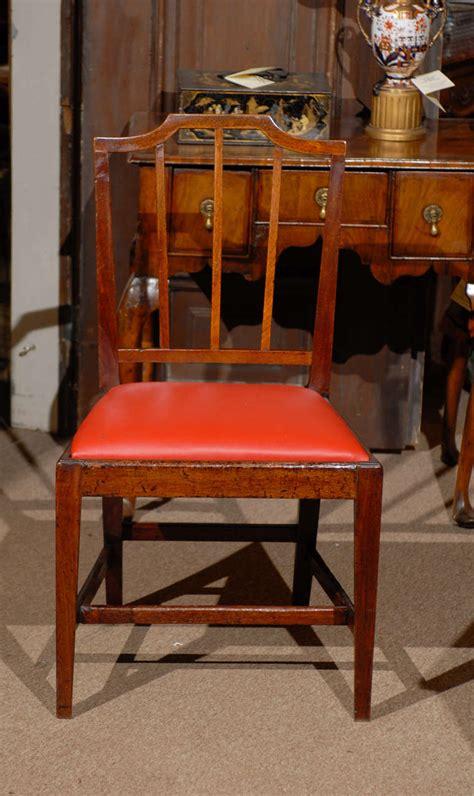 Syari Set Dm 6890 set of 8 george iii mahogany dining chairs late 18th century at 1stdibs