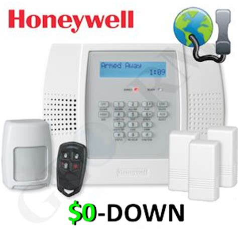 $0 down honeywell lynx plus l3000 phone line & voip