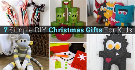 30 simple diy christmas gifts for kids cute diy projects