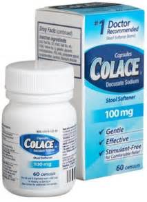 colace 100mg docusate sodium side effects dosage