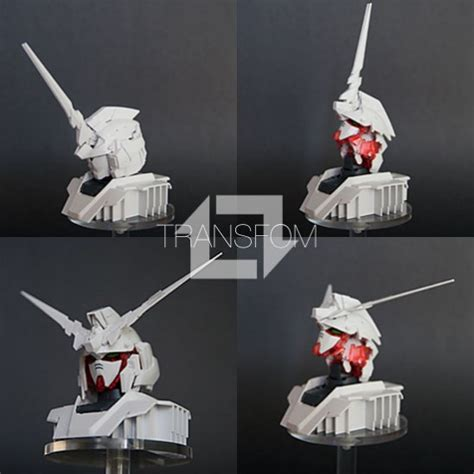 Rx 0 Unicorn Gundam Display Base hguc rx 0 unicorn gundam unicorn mode display base my anime shelf