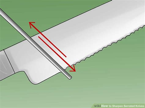 how to sharpen serrated blade how to sharpen serrated knives 12 steps with pictures