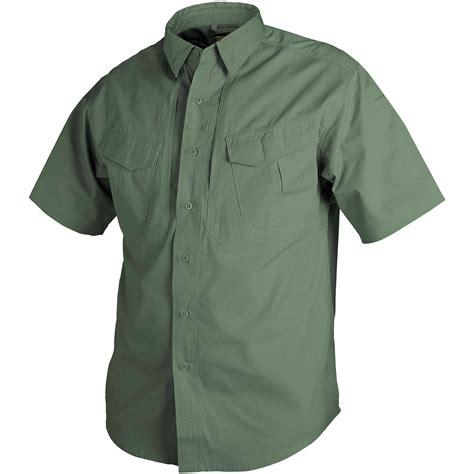 Combat Shirt Green Olive helikon tactical army mens defender shirt sleeve