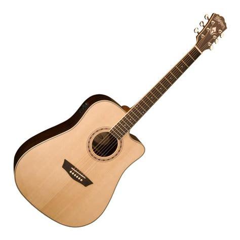 Gitar Washbrun 2 washburn wd20sce electro acoustic guitar at gear4music