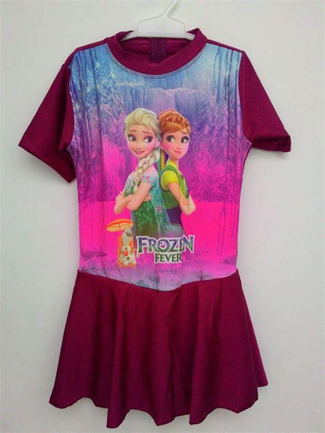 L9862 Baju Renang Anak Frozen Rok Ukuran Sd Kode Pl9862 1 jual baju renang anak frozen rok ukuran sd