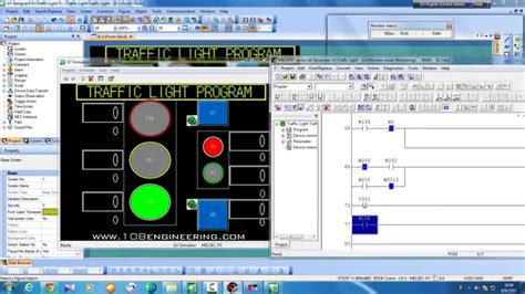 traffic light plc program traffic light program plc