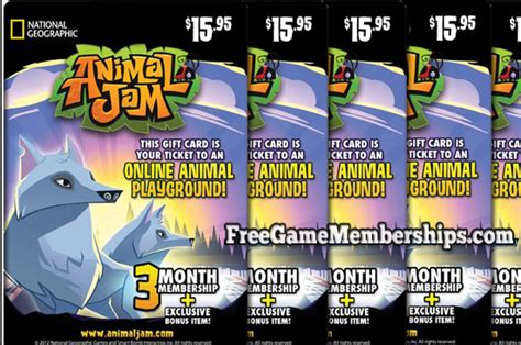 animal jam free membership codes generator 2016 animal jam membership codes generator