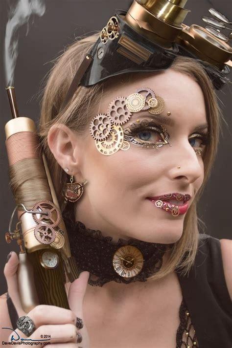 steampunk makeup ideas pinterest