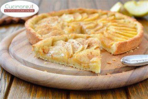 cucinare con le mele ricetta torta crostata di mele cucinare it