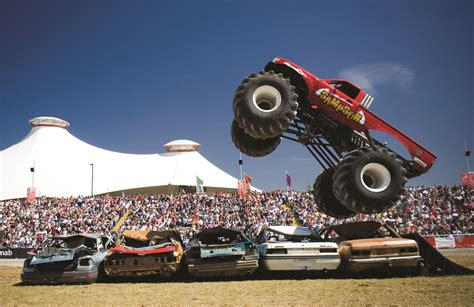 outdoor monster truck shows outdoor b main arena melbourne showgrounds