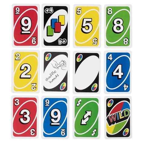 printable uno card game uno card game target