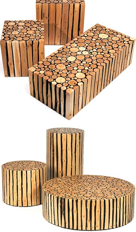 redefining rustic materials 6 modern log furniture makers
