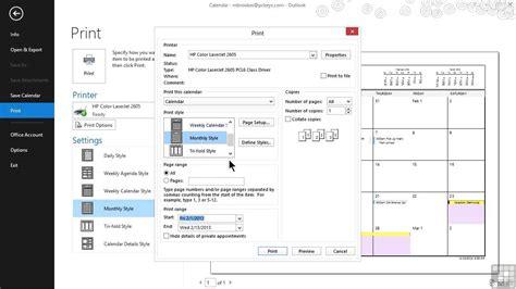 youtube tutorial on microsoft outlook microsoft outlook 2013 tutorial printing outlook items